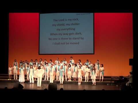 いわきゴスペルフェスティバル 2015 24. 「I shall not be moved」