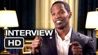 White House Down Interview - Jaimie Foxx (2013) - Channing Tatum Movie HD