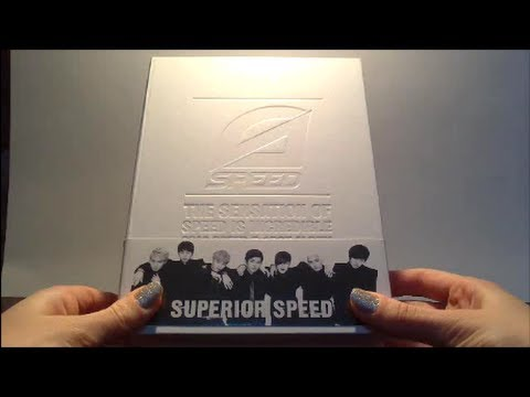 Unboxing SPEED 스피드 1st Studio Album Superior Speed