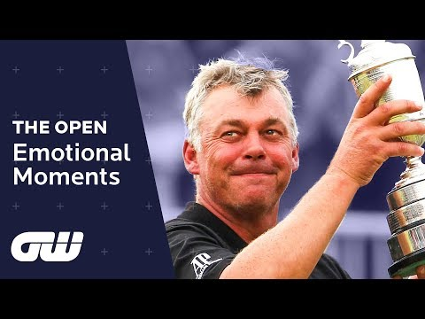 Top 5: EMOTIONAL Moments at The Open Championship   Golfing World