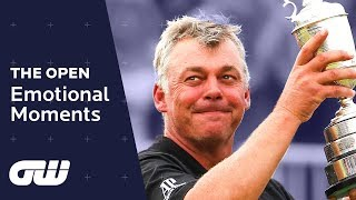 Top 5: EMOTIONAL Moments at The Open Championship | Golfing World