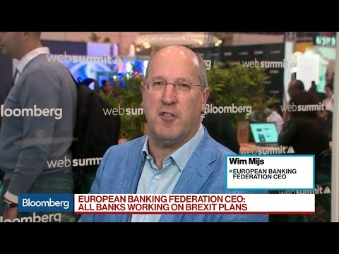 EBF's Mijs On Enria, Brexit, Banking Consolidation