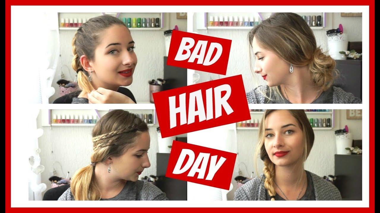BAD HAIR DAY (Frisuren ohne Hitze, schnell & einfach) ⎮weeklyMel