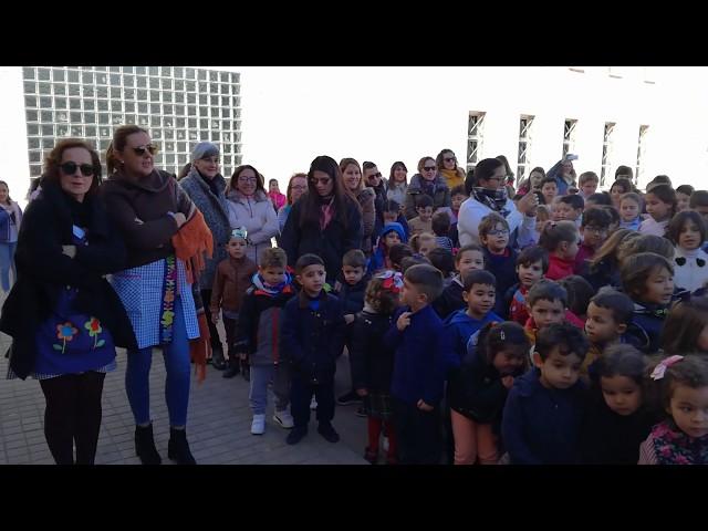 El himno de Ceuta pone el broche a la Semana Cultural del CEIP Mare Nostrum