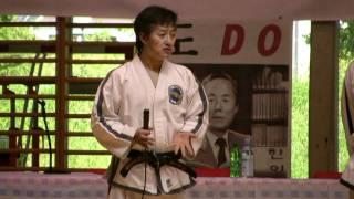 Grand Master Choi Jung Hwa IX.Dan Videoklip Mai7. 2010