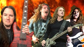 The MASTERS of Heavy Metal Bass