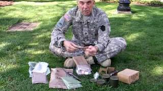 Comparing C-Rations to MREs  Sgt. Neil Gussman