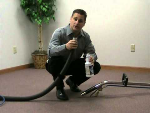Heated Carpet Cleaning Machine