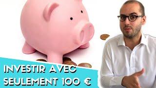 Comment investir avec (seulement) 100 euros ? 💶