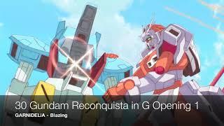 Best Gundam Opening Songs