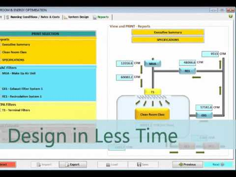 Clean Room Energy Optimization Creo Design Software