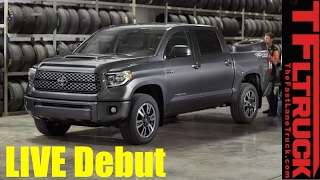 Live - 2018 Toyota Tundra TRD Sport Intro from the Chicago Auto Show