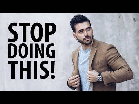 10 Ways Men Are Dressing Wrong | Men's Fashion 2017 | ALEX COSTA