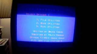 Ti-99 Disk Manager pt.1