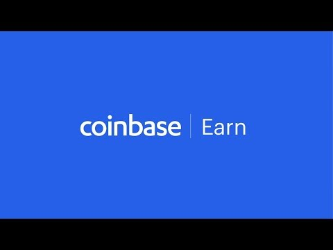 Introducing Coinbase Earn, a new way to earn crypto while you learn crypto