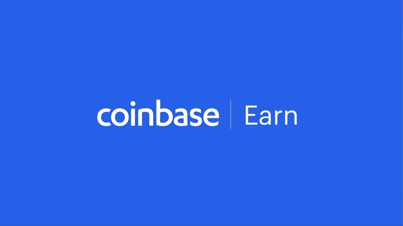 Introducing Coinbase Earn: A New Way to Earn Crypto While You Learn Crypto