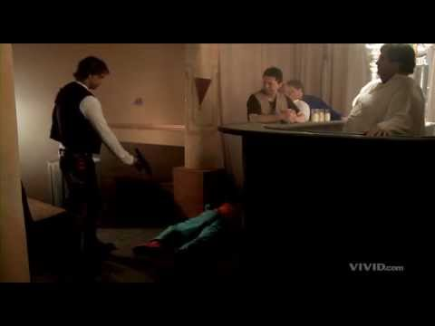 Han Shot first. A better scene from Star Wars XXX by Vivid Entertainment.