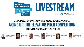 Going Up! The Elevator Pitch Competition