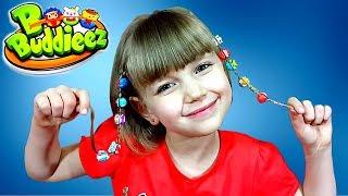 ШАРМИКИ БІ-БАДДИЗ : перше знайомство з уважність B Buddieez. Огляд іграшок для дітей відео
