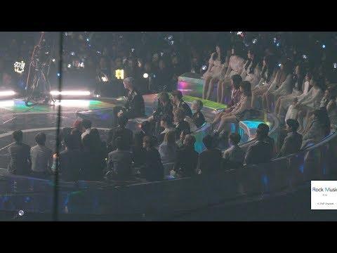 VCR 시청하며 대기중인 (워너원, 여자아이들, 볼빨간사춘기, 모모랜드,더보이즈)@181201