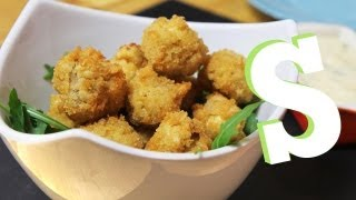 BREADED MUSHROOMS WITH HOMEMADE MAYO RECIPE - SORTED