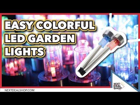 Easy Colorful Garden LED Lights - Next Deal Shop