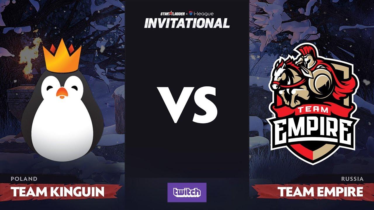 Team Kinguin против Team Empire, Первая карта, Group B, SL i-League Invitational S4