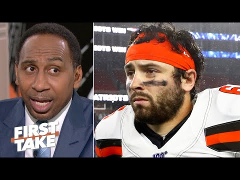 'Baker Mayfield is going to fail in the NFL' unless he cleans up his act  Stephen A.   First Take