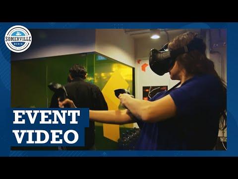 Virtual reality event video