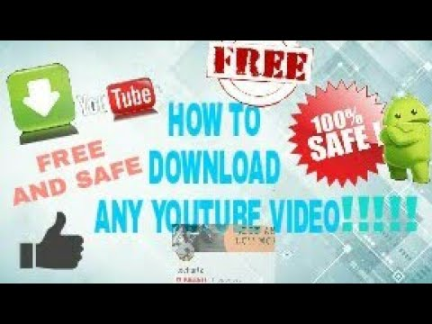 How To Legally Download ANY YouTube Videos ||100%  FREE AND SAFE || NO SOFTWARE REQUIRED ||