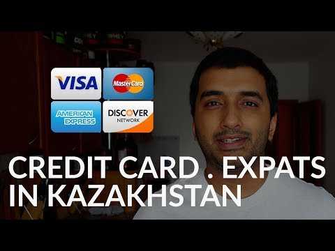 Credit card for expats in Kazakhstan