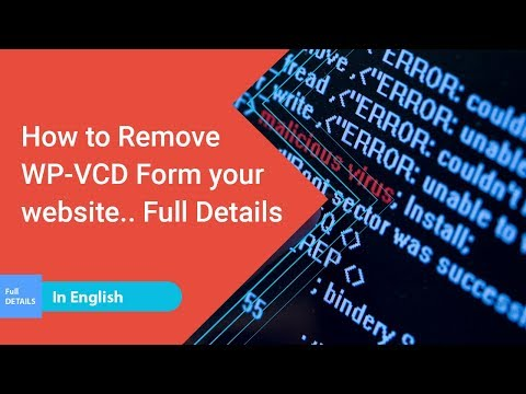 WP-VCD WordPress Malware Removal Step-by-Step Full Solution