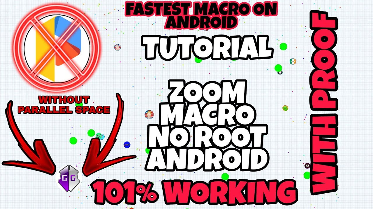 agario zoom and macro hack android no root 100%working