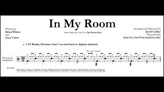 Jacob Collier - In My Room (Transcription)