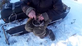 Ремонт снегохода после охоты