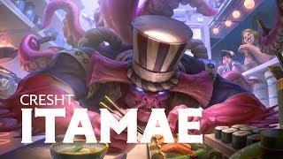 New skin Cresht Itamae Gameplay Preview