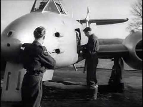 'Wings of Defence' (1950). Film focusing on the Royal Auxiliary Air Force (RAAF)