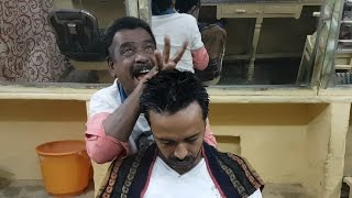 Baba Sen The Cosmic barber Head Massage
