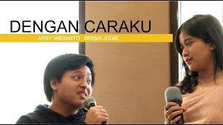 Download Lagu Arsy Widianto, Brisia Jodie - Dengan Caraku ( LIVE MGT Radio Bandung) Mp3