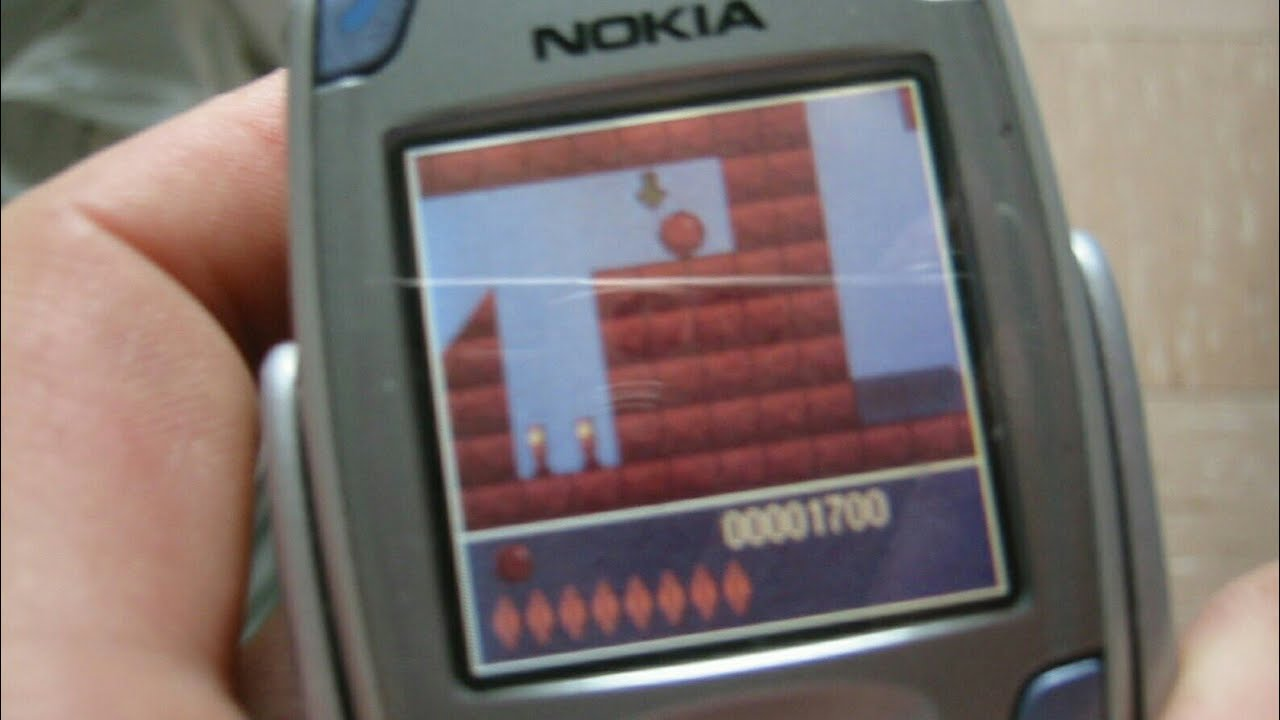 Bounce (Java Game - 2001) - Nokia Game By: GamesSky - YouTube