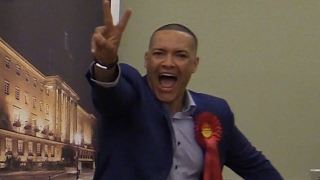 Is Clive Lewis's jubilant reaction the best of the night?