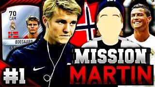NORSK FIFA 17 | MISSION MARTIN (S2) - Ødegaards Comeback!! #1