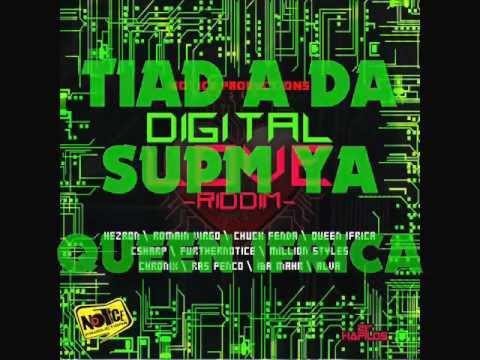 DIGITAL LOVE RIDDIM MIXX BY DJ-M.o.M MILLION STYLEZ, QUEEN IFRICA, ALVA, ROMAIN VIRGO And More