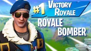 ROYALE BOMBER SKIN UNLOCKED! Fortnite Battaglia Royale