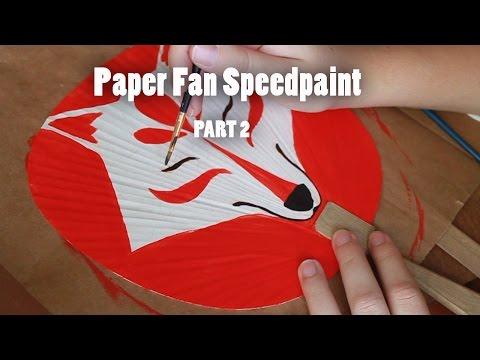 Paper Fan Speedpaint part 2