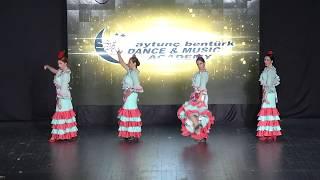 Aytunç Bentürk D.A yıl sonu gösterileri 2017 FLAMENKO SHOW Demet Tekin Team