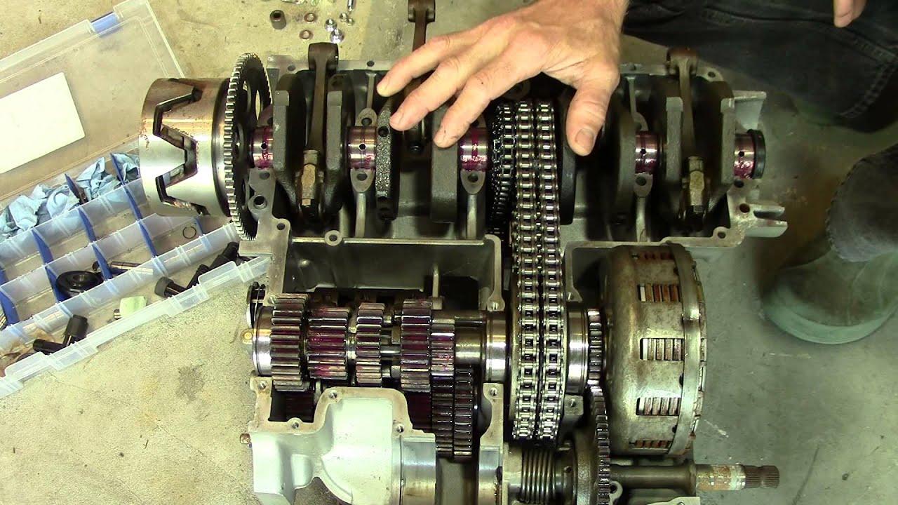 internal wiring diagram pharynx unlabeled 73 honda cb750 cafe racer build episode 2 - engine inspection youtube