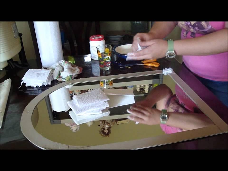 Espejo con servilleta de cocina youtube - Youtube videos de cocina ...
