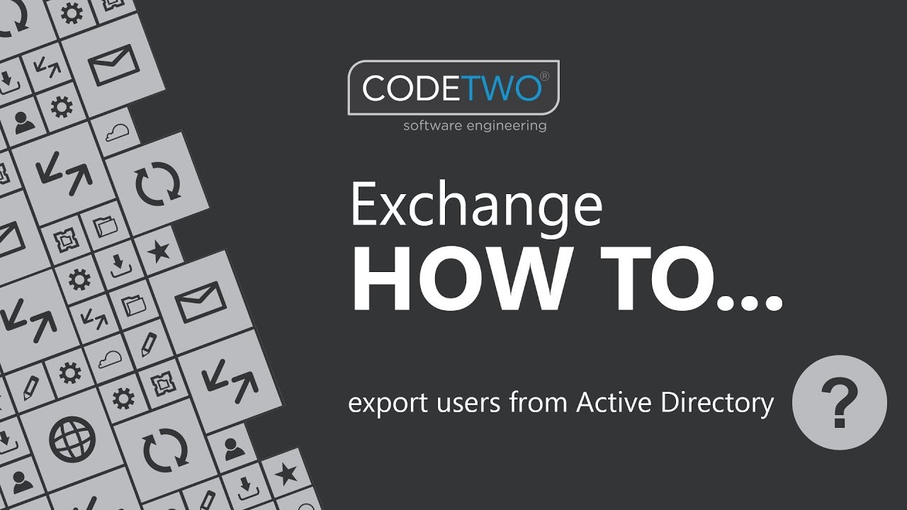 How to export users from Active Directory - Admin's blog