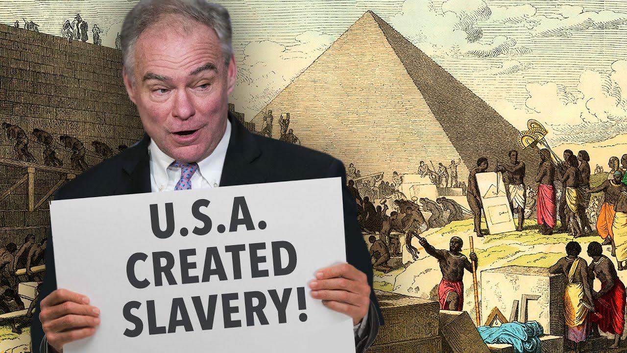 Ben Shapiro CRUSHES Tim Kaine For Saying America Created Slavery
